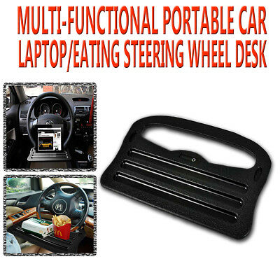 Zone Tech Auto Laptop Tray Table Stand Steering Wheel Mount Car SUV Truck Desk
