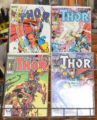 The Mighty Thor 337 339 340 350 lot 1st Beta Ray Bill Stormbreaker Walt Simonson