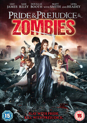 Pride and Prejudice and Zombies DVD (2016) Lily James