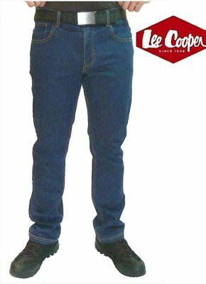 Vermindert Lee Cooper 218 Blau Stretch Denim Works Jeans Klassische Passform