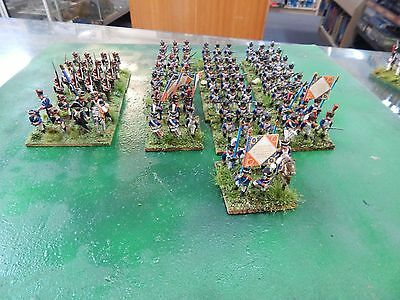 25mm metal painted French Line Infantry Napoleonics by Minifigs