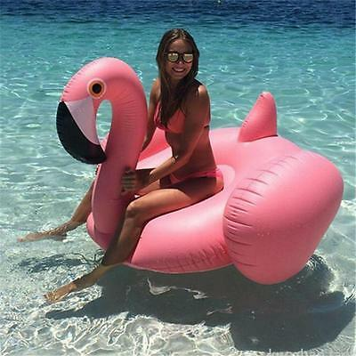 Inflatable Leisure Giant Swan Float Rideable Raft Duarable Swimming Pool Toy