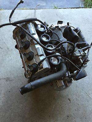 1999-2002 99 00 01 02 Yamaha Yzf R6 Complete Engine Motor Runs Excellent Clean