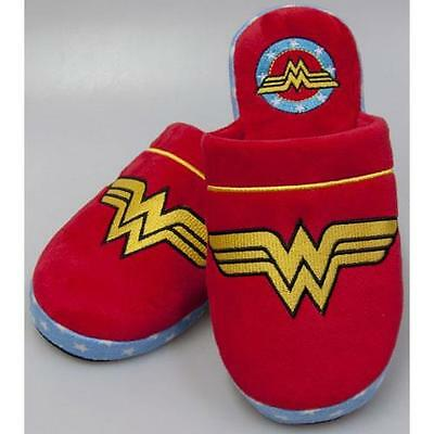 Wonder Woman - Classic Ladies Mule Slippers  - New & Official DC Comics In Pack