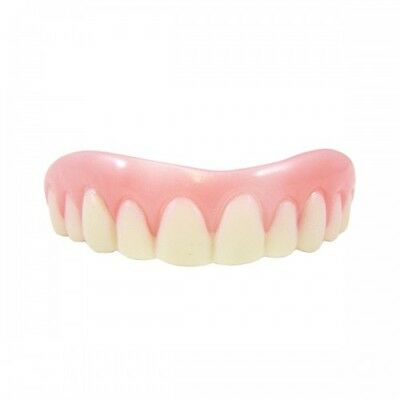 Instant Smile Billy Bob Medium Fake Teeth with Fixative Top Set Adult