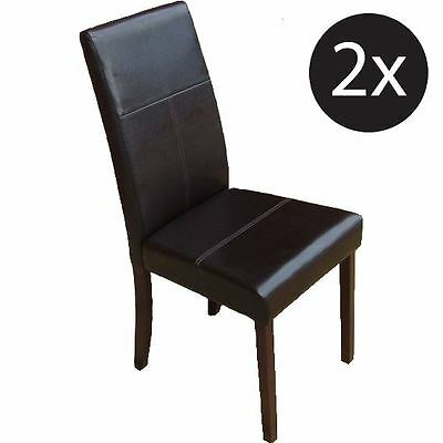 PU Leather Chair (Box of 2)