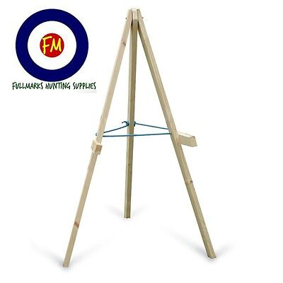 Wooden Archery Target Stand For Use With  60Cm And 90Cm Straw & Foam Target