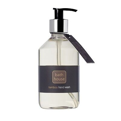 Brand New Bamboo Hand Wash Pump From The Bath House 325Ml Made In Cumbria