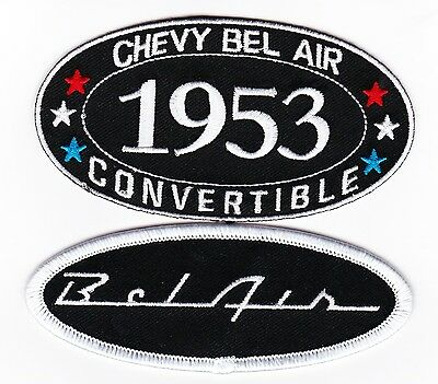 CHEVELLE MALIBU SEW//IRON ON PATCH EMBLEM BADGE EMBROIDERED CHEVY 1964 CAR V8