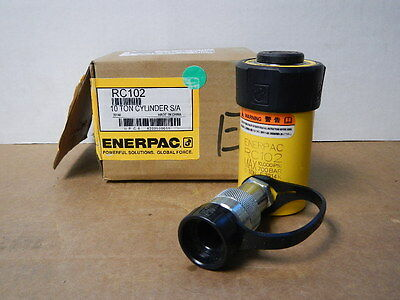 Enerpac Rc-102 Hydraulic Cylinder Duo Series 10 Ton New