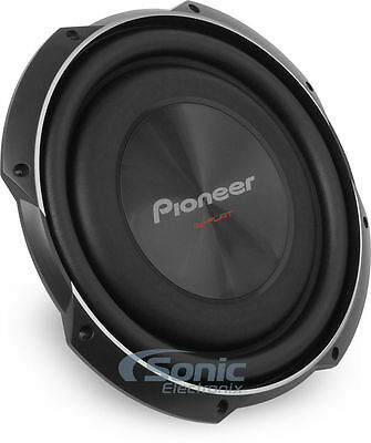 """PIONEER 1500W 12"""" TS Single 4 Ohm Shallow Mount Car Subwoofer 