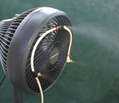 Misting Fan - 3 Nozzle water mister - US Made