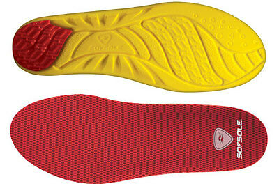 Sof Sole Arch Performance Insoles, Arch Supportive Cushioning, Men's 9-10.5