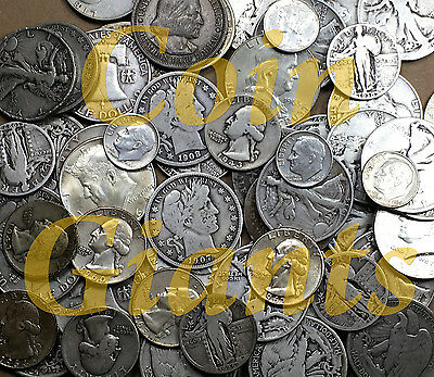 One Troy Pound (1Lbt) Bag Mixed 90% Circulated Silver Coins Us Minted Invest Now