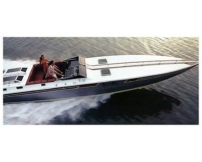 1981 Wellcraft Scarab Kaama Power Boat Factory Photo ud2844