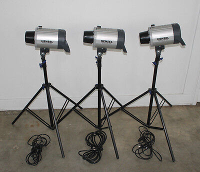 3 Monolight Light Hensel 500 Integra Performing Light Kit Studio Ready MSRP 2700