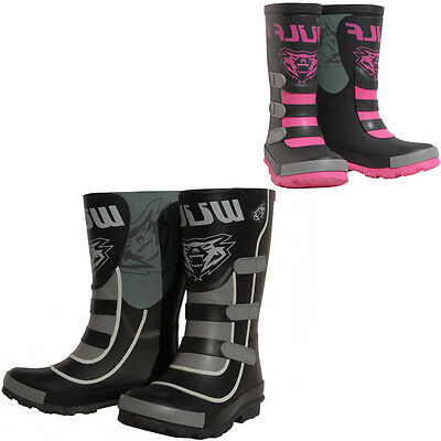 Wulfsport Junior Mud Stomper Wellies Welly Boot MX MotoX Motocross Quad Pit Bike