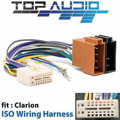 clarion wire wiring harness car stereo adapter cable 7 99 picclick rh picclick com