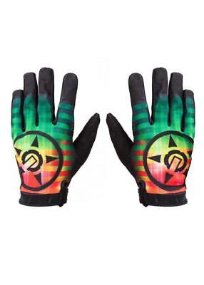 UNIT Clothing Saturn Riding Gloves in RASTA