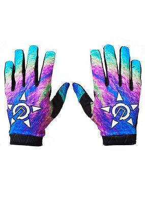 UNIT Clothing Oil Spill Riding - Youth Gloves in MULTI
