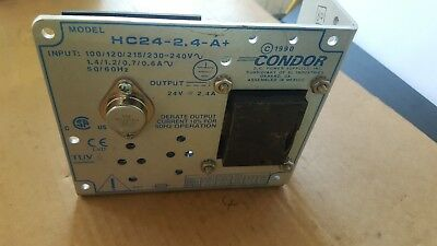 Condor Hc24-2.4-A+  Power Supply (R5S13.2)