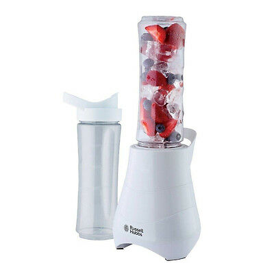 Russell Hobbs 21350 Mix and Go Personal Blender Mixer 300 W - White New Uk