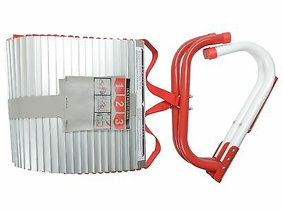Kidde 468094 Three-Story Fire Escape Ladder with Anti-Slip Rungs, 25-Foot NEW