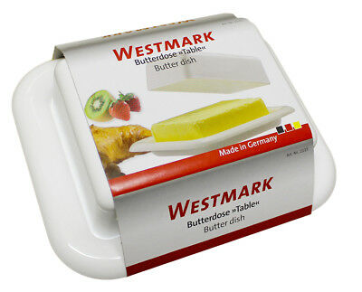 BUTTERDOSE WESTMARK ® WEISS NEU OVP  Made in Germany
