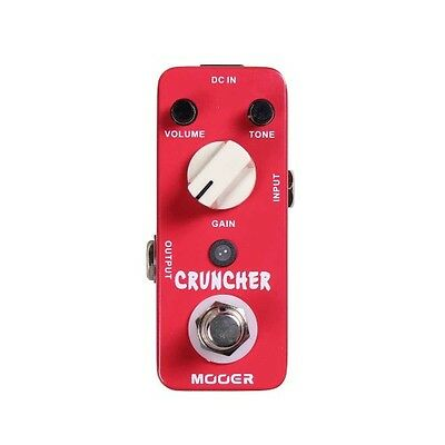 Mooer Cruncher Distortion Micro Compact Pedal