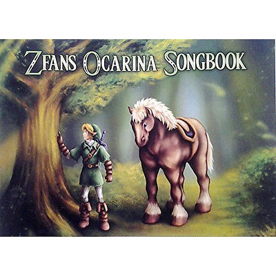 Legend of Zelda Standard Notation Songbook for 12 7 and 6 Hole Ocarina w/ CD