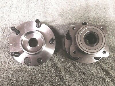 NEW PAIR 513123 Axle Bearing and Hub Assembly 5 Studs Front 1996-07 Caravan PAIR
