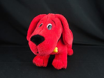 Clifford Big Red Dog Plush Posable Bendable 2000 Scholastic A-17