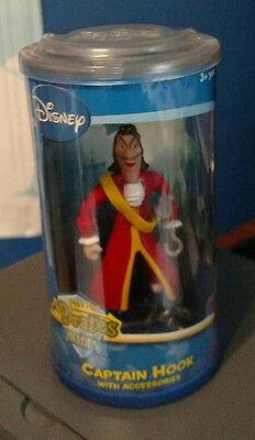 Peter Pan Pirates/Heroes! Captain Hook with Accessories! Mint In Box!