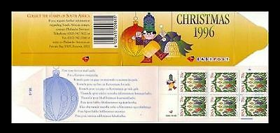 South Africa 1996 Christmas Booklet . MNH