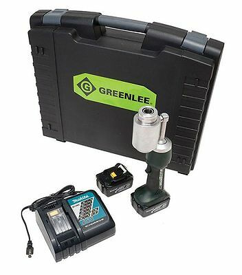 Greenlee LS100L11A Battery Powered Punch Tool with 120-Volt Charger