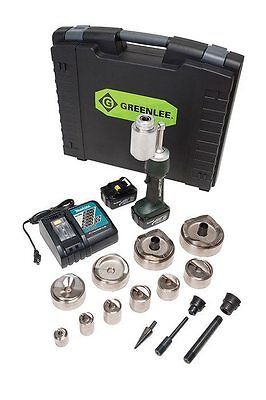 Greenlee LS100L11SB4SP Punch Kit with Mild Steel Speed Punch