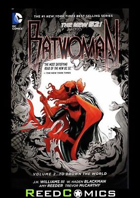 BATWOMAN VOLUME 2 TO DROWN THE WORLD GRAPHIC NOVEL New Paperback Collects #6-11