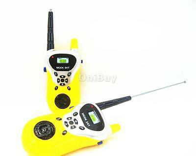 2pcs talkie walkie talkies walkies jouet eur 8 09. Black Bedroom Furniture Sets. Home Design Ideas
