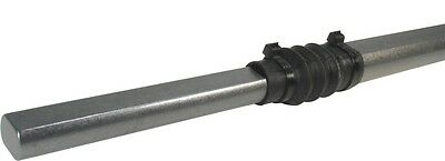 """Borgeson 450024 Steering Shaft, Telescopic, Steel, 24"""" Extended Length"""