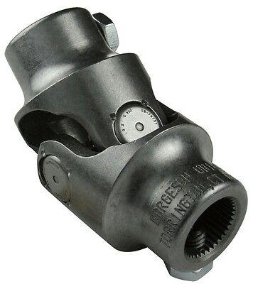 Borgeson 014955 Steering Universal Joint, Steel, 3/4DD X 3/4V