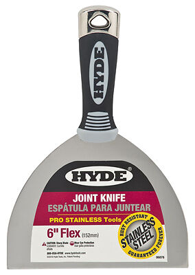 """Hyde Mfg. 06878 MAX Grip Pro Tools-6"""" PRO JOINT KNIFE"""