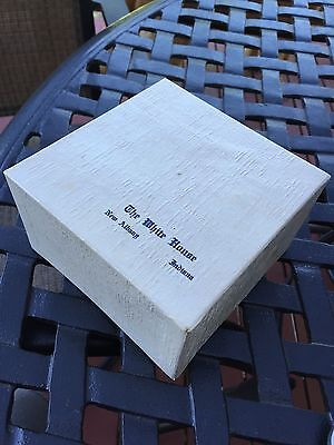 Vintage Gift Box from The White House Department Store, New Albany, IN