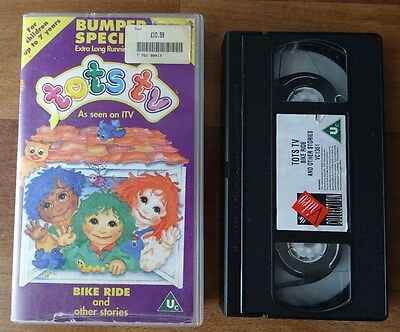 Rare Tots TV Bumper Special 1993 VHS PAL Video