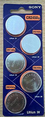 Sony CR2450 / DL2450 Button Coin Cell Lithium Battery 3V MELB Stock