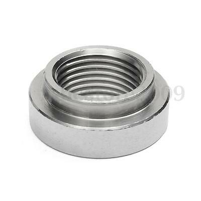 Exhaust Pipe Base Nut M18 x 1.5 Bung O2 Oxygen Sensor Gasket 430 Stainless Steel