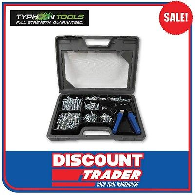 Typhoon Tools 188 Piece Hollow Wall Anchor Kit - 70755