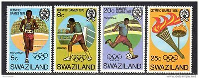 Swaziland 1976 Olympic Games MNH