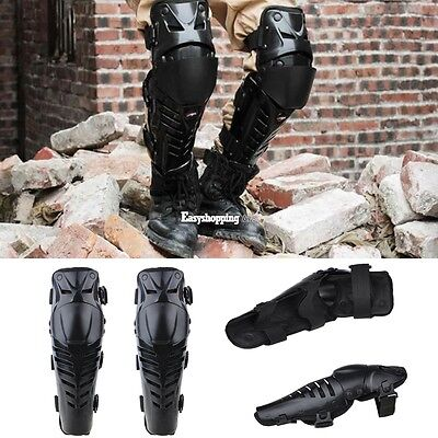 Motorcycle One Pair Adult Body Guard Body Armour Knee Protection Pads Knee Shin