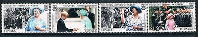Tuvalu 1999 Queen Mother MNH