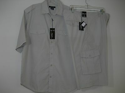 Men's Safari Travel Clothing Trail Short (Top & Bottom) Sets